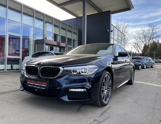 BMW 520d xDrive Limousine M-Paket Aut., Navi-Pro, Harman Kardon, Head-Up, Kamera, 19″ bei CarPort || Meyer-Hafner in