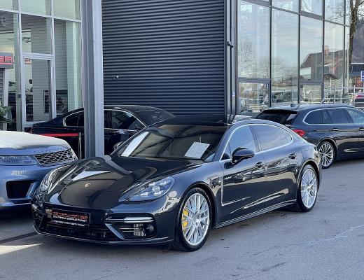 Porsche Panamera Turbo S E-Hybrid PHEV Executive Aut., Burmester, LED-Matrix, Massage, Nachsichtasssitent, 21″ bei CarPort || Meyer-Hafner in