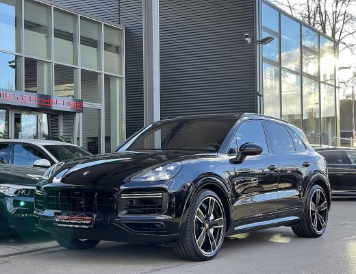 Porsche Cayenne Turbo Cayenne Turbo, LED-Matrix, Pano, Burmester, 22″ bei CarPort || Meyer-Hafner in