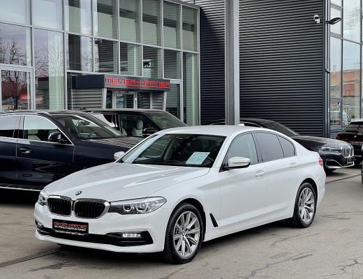 BMW 520d xDrive Limousine Sport Line Aut, M-Lederlenkr., SHZ, Komfortzugang, 18″ bei CarPort || Meyer-Hafner in
