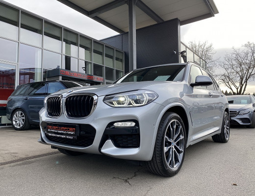 BMW X3 xDrive 20d M-Paket Aut., LKHZ, Harman Kardon, LED, Navi-Pro, Head-Up, Kamera, 20″ bei CarPort || Meyer-Hafner in