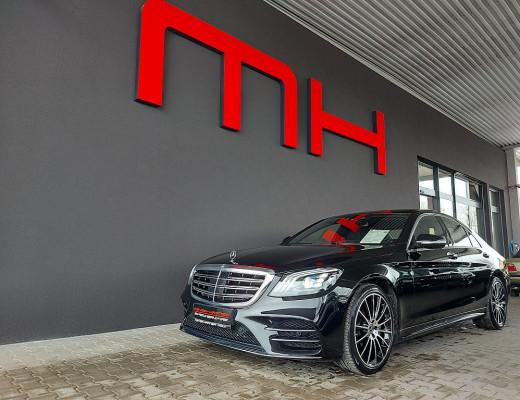 Mercedes-Benz S 560 4MATIC Limousine AMG-Line Aut., LED, Night-Vision, Head-Up, Kamera, TV, LKHZ, Pano, 20″ bei CarPort || Meyer-Hafner in