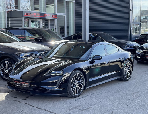 Porsche Taycan Basis, LKHZ, LED, BOSE, Pano, Kamera, 20″ bei CarPort || Meyer-Hafner in