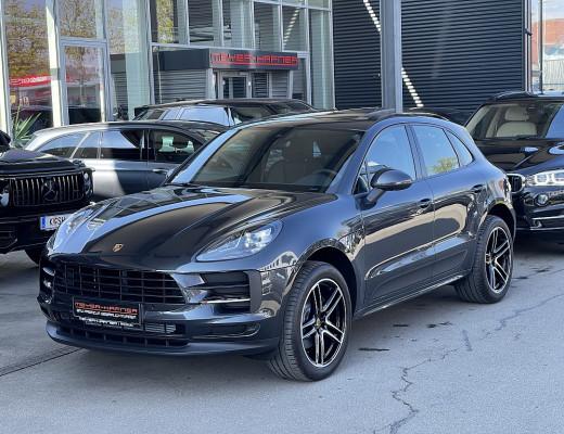 Porsche Macan II, LED, LKHZ, Kamera, Pano, AHK, Memory, 20″ bei CarPort || Meyer-Hafner in