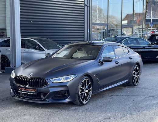 BMW M850i xDrive Gran Coupe Aut., LASER, Bowers & Wilkins, Pano, 20″ bei CarPort || Meyer-Hafner in