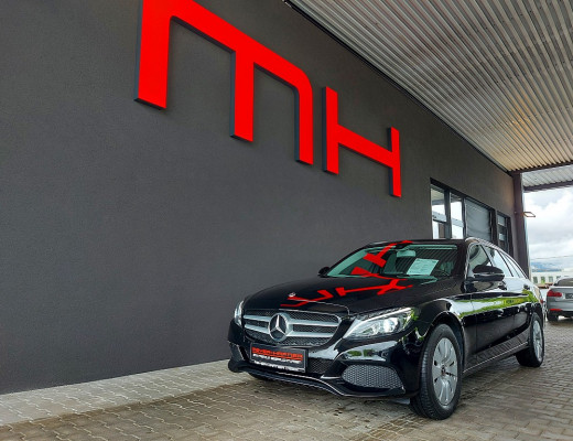 Mercedes-Benz C 200 d T Aut., LED, Navi, SHZ bei CarPort || Meyer-Hafner in