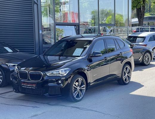 BMW X1 xDrive18d M-Paket Aut., AHK, Kamera, Pano, LED, HiFi, Navi-Plus, Head-Up, 19″ bei CarPort || Meyer-Hafner in