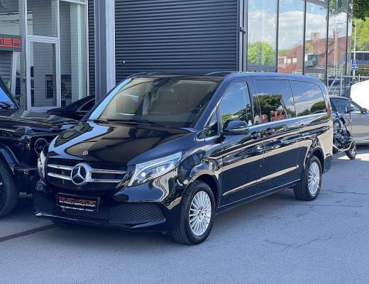 Mercedes-Benz V 220 d 4MATIC extralang Avantgarde Aut. Nappaleder, Navigation bei CarPort || Meyer-Hafner in