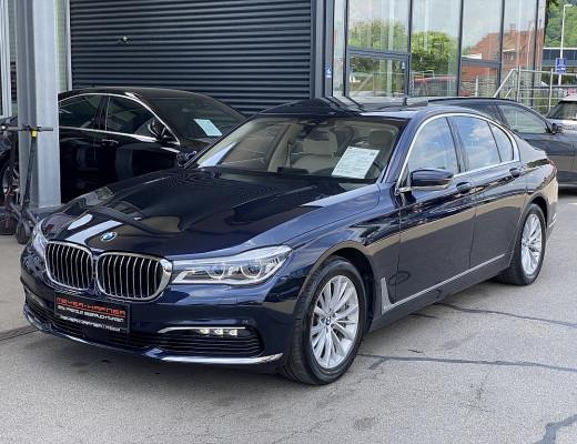 BMW 750i xDrive Limousine Aut., Navi-Pro, Kamera, AHK, Glasdach, Laserlicht, 18″ bei CarPort || Meyer-Hafner in