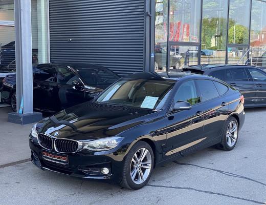 BMW 318d Gran Turismo Sport Line Aut., Kamera, Navi-Pro, LED, 18″ bei CarPort || Meyer-Hafner in