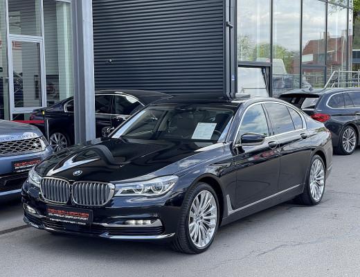 BMW 740d xDrive Limousine Pure Excellence Aut., Laserlicht, Massage, STHZ, Glasdach, Harman Kardon, 20″ bei CarPort || Meyer-Hafner in