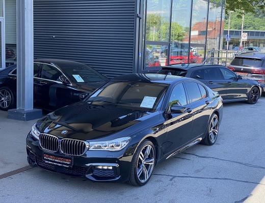 BMW 750d xDrive M-Paket Aut., Kamera, Navi-Pro, Harman Kardon, Laserlicht, Massage, SZBL, AHK, 20″ bei CarPort || Meyer-Hafner in