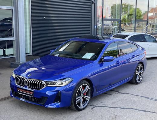 BMW 640d 48 V xDrive Gran Turismo M-Paket Aut., Bowers&Wilkins, Laserlicht, STHZ, Massage, AHK, Pano, Kamera bei CarPort || Meyer-Hafner in