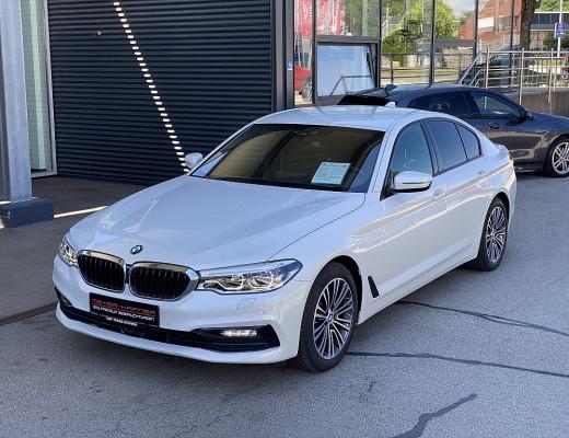 BMW 520d xDrive Limousine Sport Line Aut., AHK, HiFi, LED, Memory, Navi, Head-Up, 18″ bei CarPort || Meyer-Hafner in