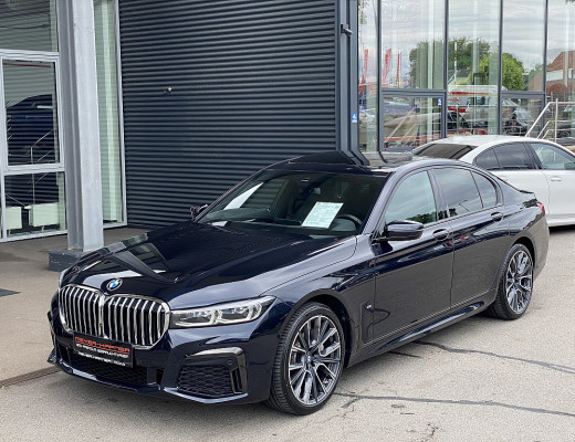 BMW 730d xDrive Limousine M-Paket Aut., Kamera, Glasdach, HiFi, Memory, LED, Navi-Pro, 20″ bei CarPort || Meyer-Hafner in