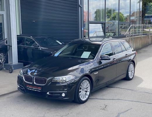 BMW 520d xDrive Touring Aut., Kamera, Navi-Pro, HiFi, Komfortzugang, 18″ bei CarPort    Meyer-Hafner in