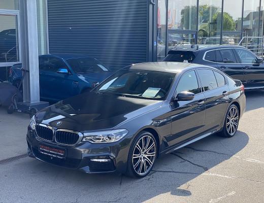 BMW 540i Limousine M-Paket Aut., LED, Navi-Pro, Harman Kardon, STHZ, Massage, AHK, 20″ bei CarPort    Meyer-Hafner in