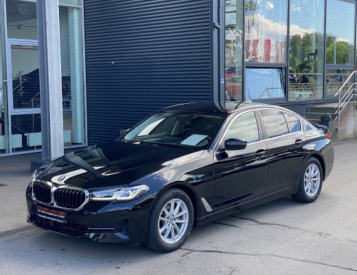 BMW 520d xDrive Limousine 48 V Aut. FACELIFT, ACC, Head-Up, LED, SHZ bei CarPort    Meyer-Hafner in
