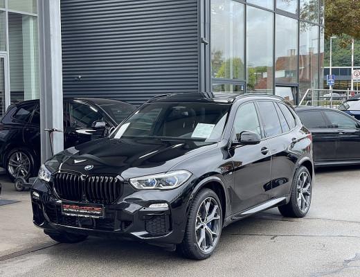 BMW X5 xDrive45e PHEV M-Paket Aut., LKHZ, AHK, Massage, Pano, Kamera, LED, 21″ bei CarPort    Meyer-Hafner in