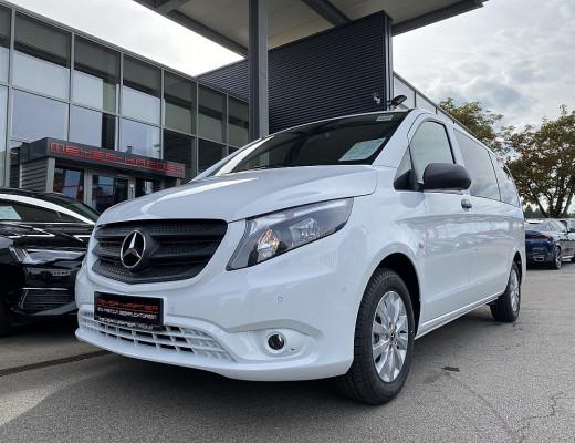 Mercedes-Benz Vito Tourer Select 114 CDI lang FWD, AHK, Navi, Kamera, SHZ bei CarPort    Meyer-Hafner in
