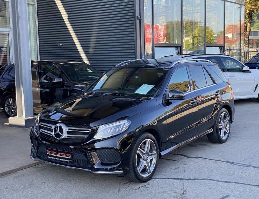 Mercedes-Benz GLE 500 4Matic AMG Aut., Harman Kardon, LED, AHK, STHZ, Pano bei CarPort || Meyer-Hafner in
