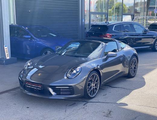 Porsche 911 Targa 4 Coupe S Aut., BOSE, LKHZ, LED, 20″/21″ bei CarPort || Meyer-Hafner in