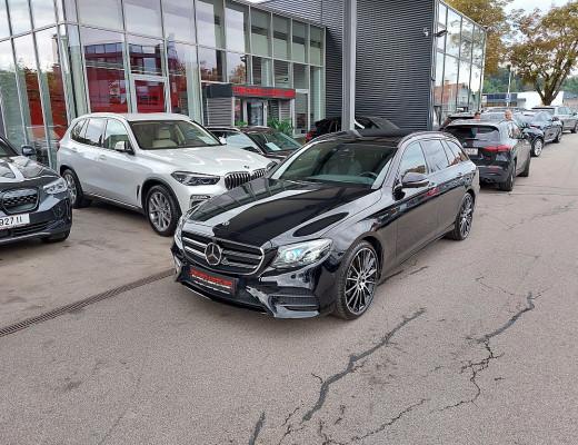 Mercedes-Benz E 220 d T AMG-Line 4MATIC Aut. Burmester Sound, 20 Zoll, Multibeam LED, ACC, DAB, PANO, Night Paket bei CarPort || Meyer-Hafner in