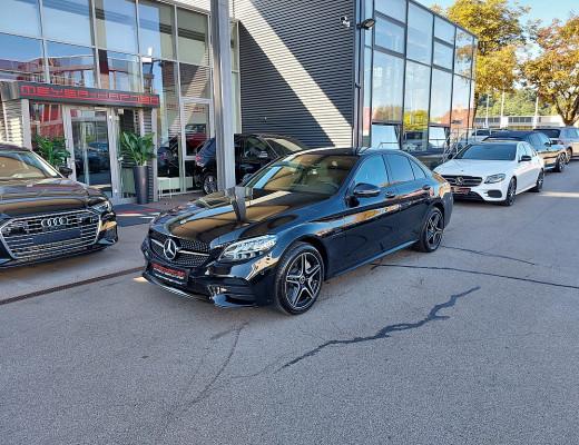 Mercedes-Benz C 300e PHEV 4MATIC Aut. AMG-Line, Spur Paket, Totwinkel Assistent bei CarPort || Meyer-Hafner in