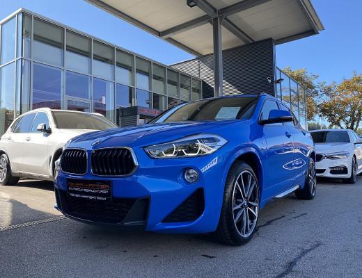 BMW X2 xDrive20d Aut. M-Paket, Vollausstattung, Werksgarantie bis 09/2024 bei CarPort    Meyer-Hafner in