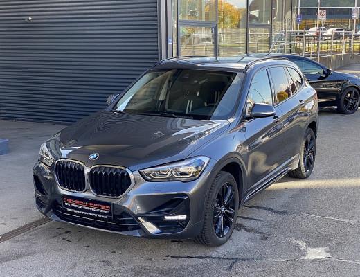 BMW X1 xDrive18d Sport Line Aut., Kamera, Komfortzugang, Navi, HiFi, SHZ bei CarPort || Meyer-Hafner in