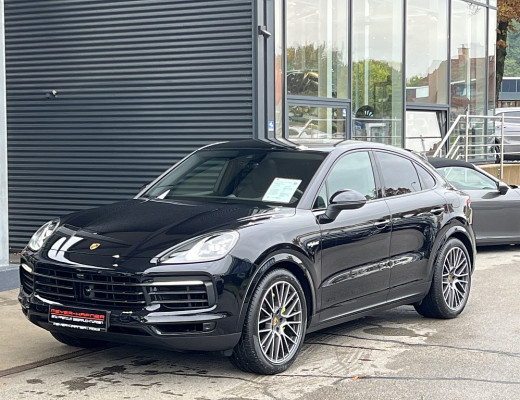Porsche Cayenne Coupe E-Hybrid PHEV Aut., BOSE, Kamera, LED, 21″ bei CarPort    Meyer-Hafner in