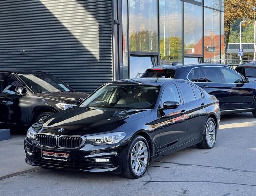 BMW 520d xDrive Aut. Sport Line, Werksgarantie bis 09/2024, nur 8.200km bei CarPort    Meyer-Hafner in