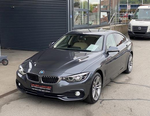 BMW 420d xDrive Gran Coupe Sport Line Aut. HIFI, Kamera, Memory, Leder bei CarPort    Meyer-Hafner in