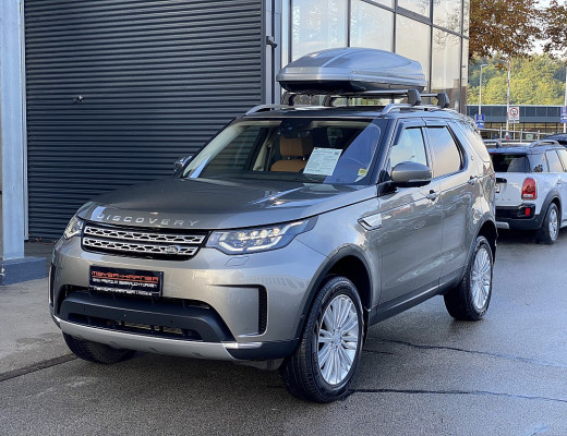 Land Rover Discovery 5 3,0 SDV6 HSE Luxury Aut. Vollausstattung, NP 125.000,– bei CarPort || Meyer-Hafner in