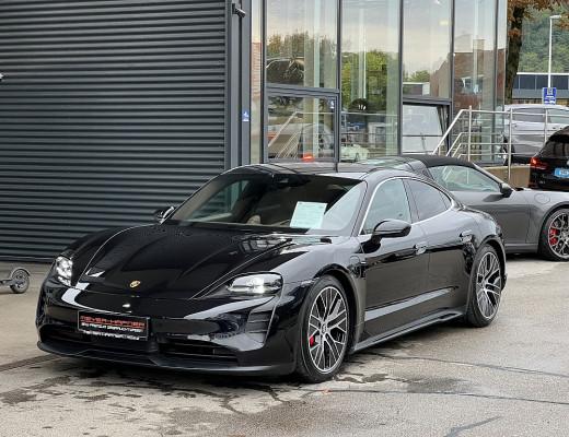 Porsche Taycan 4S Plus, Bose Sound, 20 Zoll, LED-Matrix, SportDesign Paket bei CarPort || Meyer-Hafner in