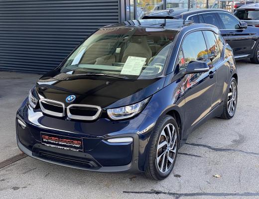 BMW i3 120 Ah eDrive Mega City Vehicle, LED, Navi-Pro, Glasdach, Kamera, Harman Kardon, 19″ bei CarPort || Meyer-Hafner in