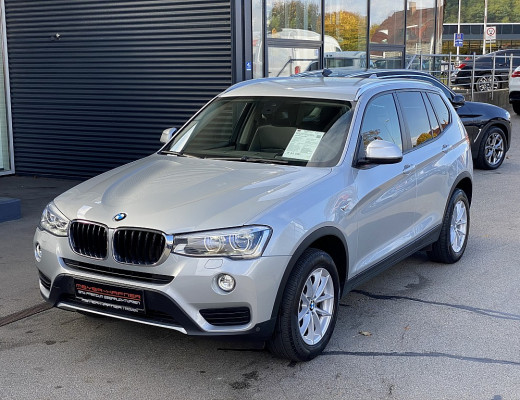 BMW X3 xDrive 20d Aut., Kamera, AHK, Memory, LED, HiFi, Navi-Pro bei CarPort || Meyer-Hafner in